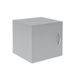 Антресоль узкая с глухой дверью SA-400.1(L/R)Grey
