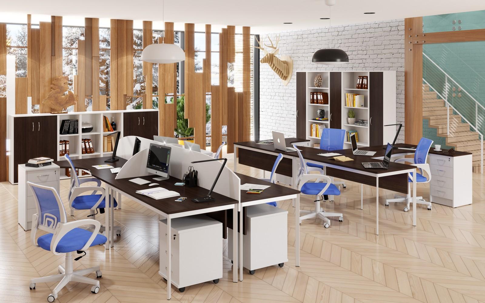 Столы для офиса: огромный выбор, множество коллекций