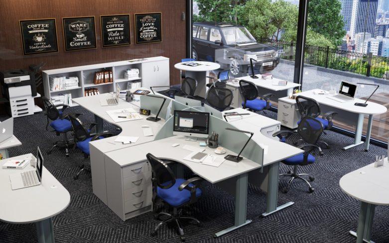 Коллекция офисных столов