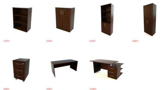 Обновление каталога офисной мебели НМК-Мебели
